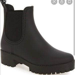 Jefferey Campbell Chelsea rainboots